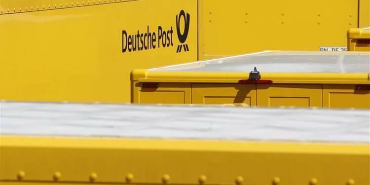 """Deutsche Post s'attend à une année 2013 """"pas facile"""""""