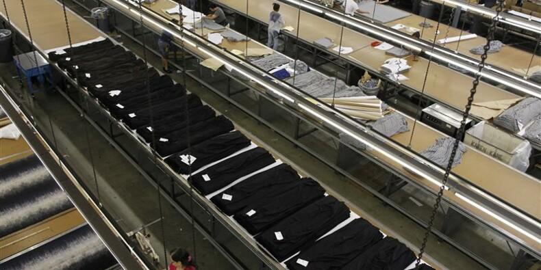 Plus forte hausse de l'activité manufacturière en 7 mois aux Etats-Unis
