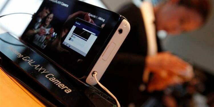 Samsung lance un appareil photo doté d'Android