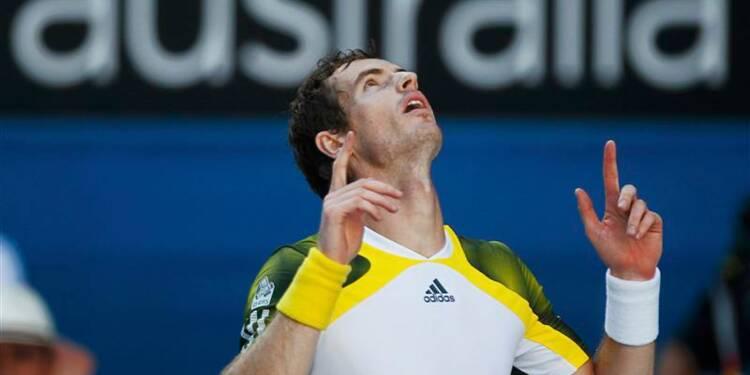 Open d'Australie: Andy Murray surclasse Jérémy Chardy