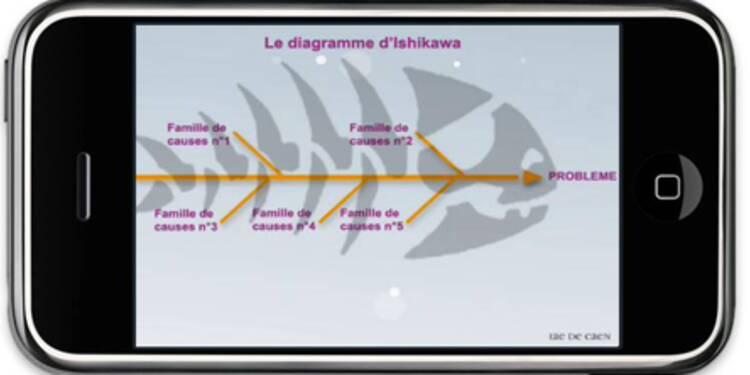 Après l'e-learning, le mobile learning débarque sur iPhone