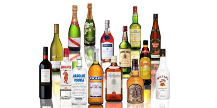 Le titre Pernod Ricard en forte hausse, dopé par des notes d'analystes