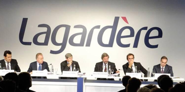 Lagardère veut améliorer les résultats de sa branche Services, le titre remonte