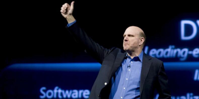 Steve Ballmer empoche plus d'1milliard de dollars en vendant des actions Microsoft