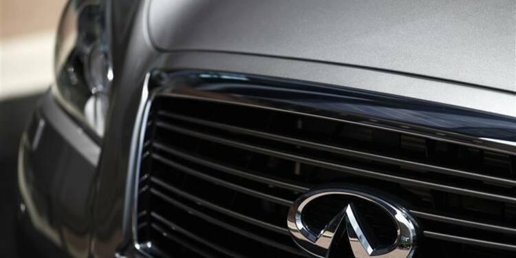Nissan voit le marché auto haut de gamme croître de 8% en 2013