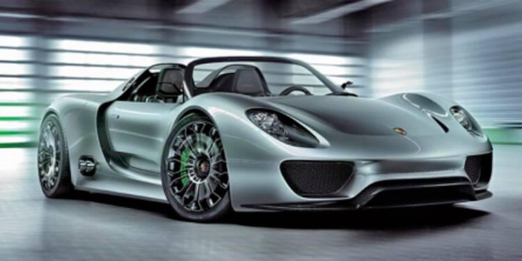Porsche facturerait la 918 Spyder 500.000 euros