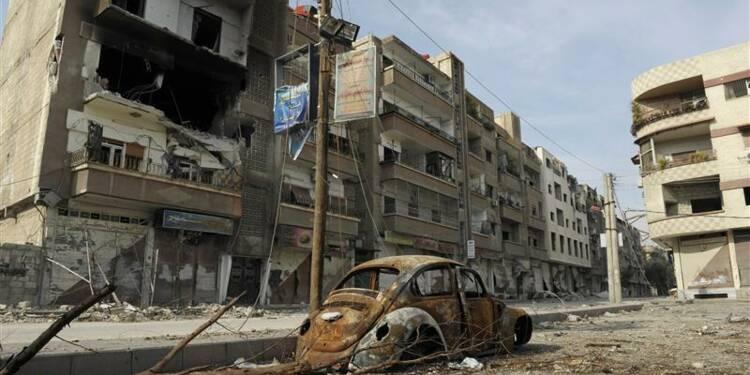 Dans le centre de Damas, la guerre ne cesse de se rapprocher
