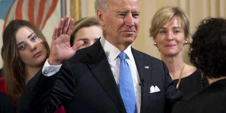 Joe Biden prête serment comme vice-président des Etats-Unis