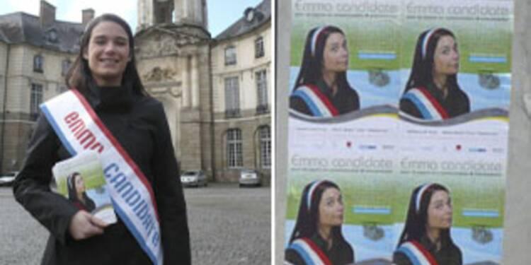 Municipales : Emma, 22 ans, candidate... à un emploi