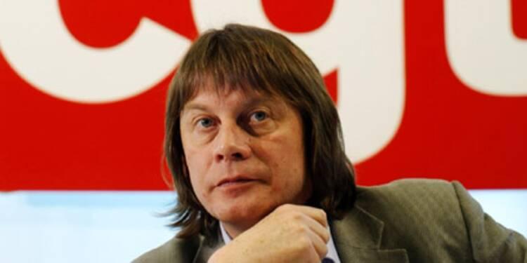 Bernard Thibault gagne deux fois moins que les autres leaders syndicaux