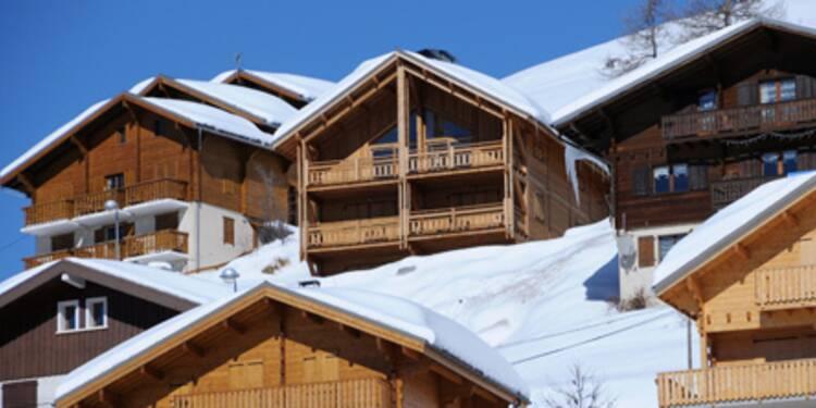 Les nouveaux prix de l'immobilier dans les stations de ski des Alpes