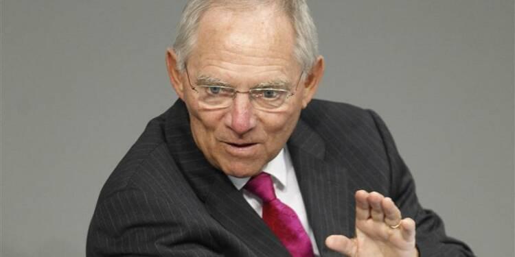 Le ministre allemand des Finances veut une étude sur l'économie française