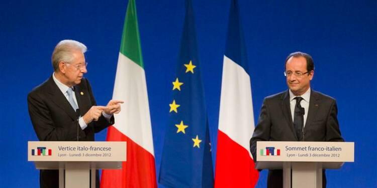 Monti et Hollande remettent le TGV Lyon-Turin sur les rails