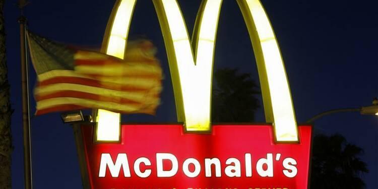 La hausse des ventes de McDonald's ralentit au 4e trimestre