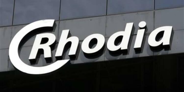 Rhodia va verser un dividende, le titre s'envole de près de 8%