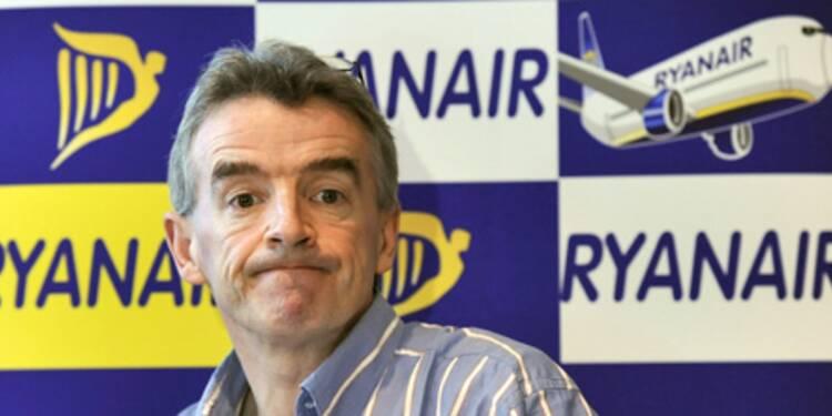 Le patron de Ryanair demande à Bruxelles d'interdire les grèves des contrôleurs aériens