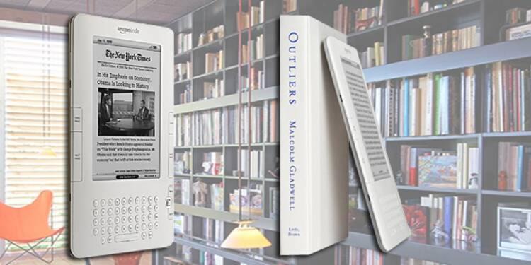 J'ai testé… le Kindle d'Amazon