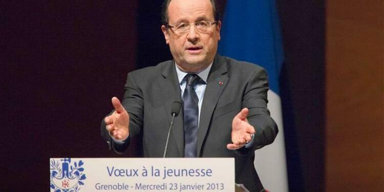 Hollande lance le chantier jeunesse, priorité de son quinquennat