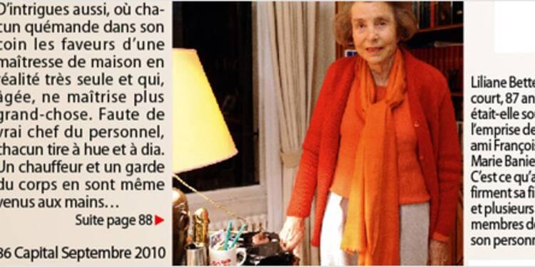 La vérité sur la sculpture coquine de Liliane Bettencourt
