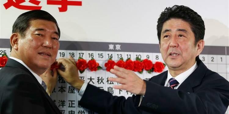 La droite japonaise de retour au pouvoir, le PDJ laminé
