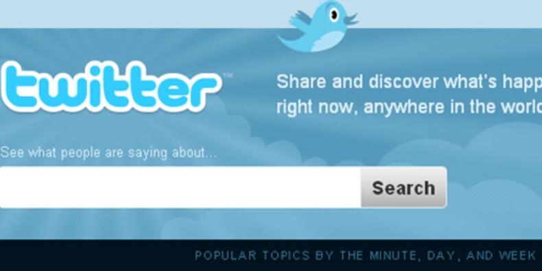 Le nombre de messages envoyés sur Twitter explose