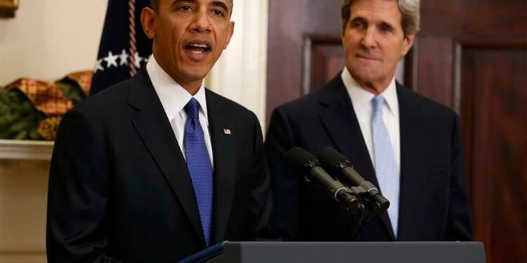 Barack Obama choisit John Kerry pour le département d'Etat