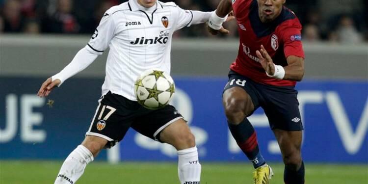 Ligue des champions: Lille battu 1-0 par Valence
