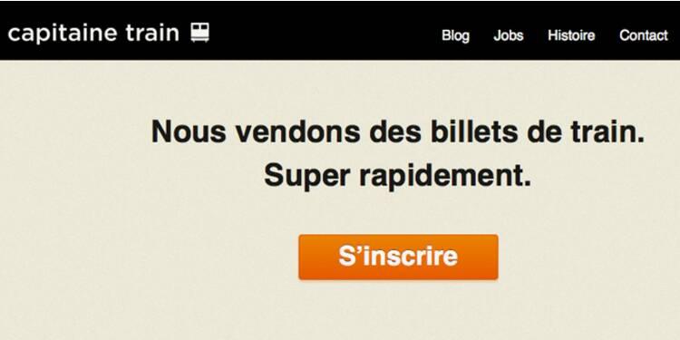 Capitaine Train, la start-up qui concurrence la SNCF sur la vente de billets en ligne