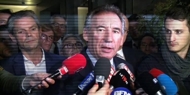 Bayrou: un projet d'accord