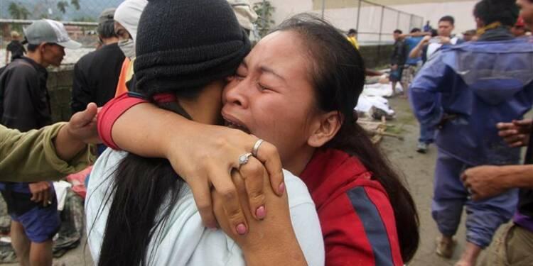 Le passage d'un typhon aux Philippines fait au moins 283 morts