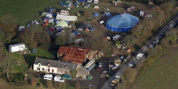 Feu vert pour la destruction de cabanes à Notre-Dame-des-Landes