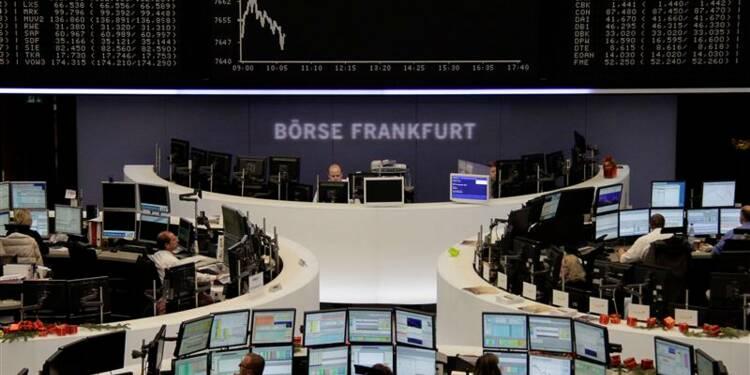 Les Bourses européennes en recul à la mi-séance