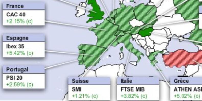 Rally des marchés européens, le Portugal rassure