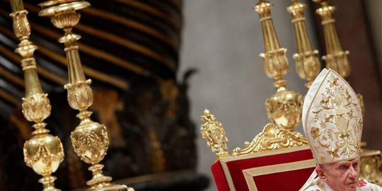 A la veille de Noël, le pape demande de laisser une place à Dieu