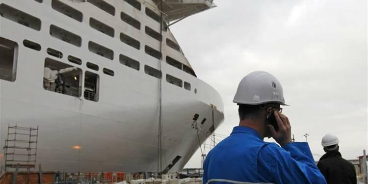 Commande d'un paquebot géant aux chantiers navals de Saint-Nazaire