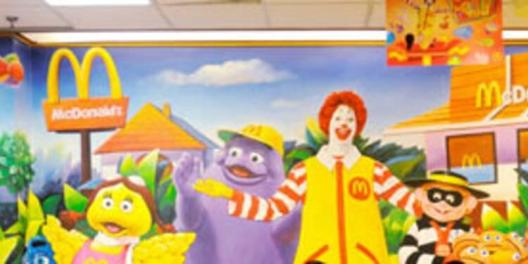 McDonald's dépasse les attentes grâce à l'international