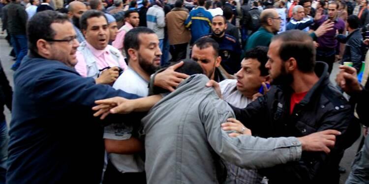 Mohamed Morsi de retour au palais présidentiel en Egypte