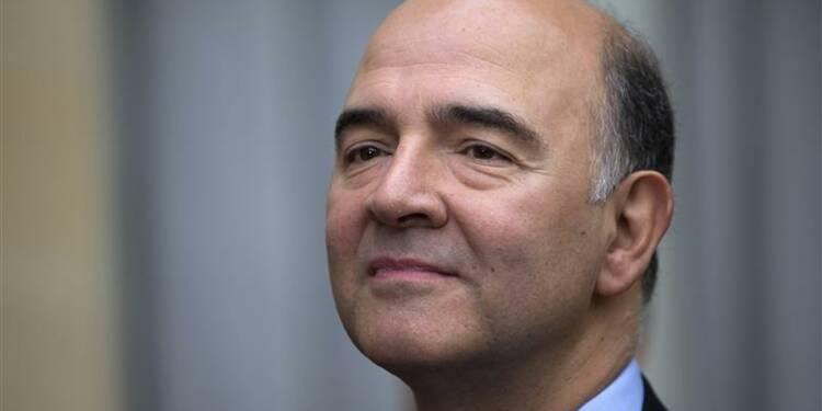 Moscovici dit ne pas être candidat pour présider l'Eurogroupe