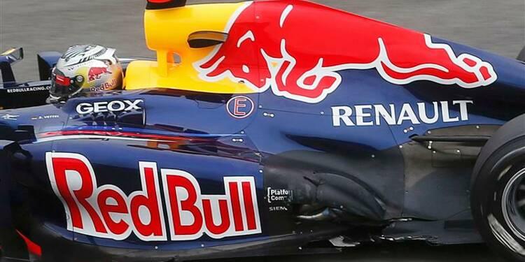F1: Vettel victime d'un accrochage au premier tour au Brésil