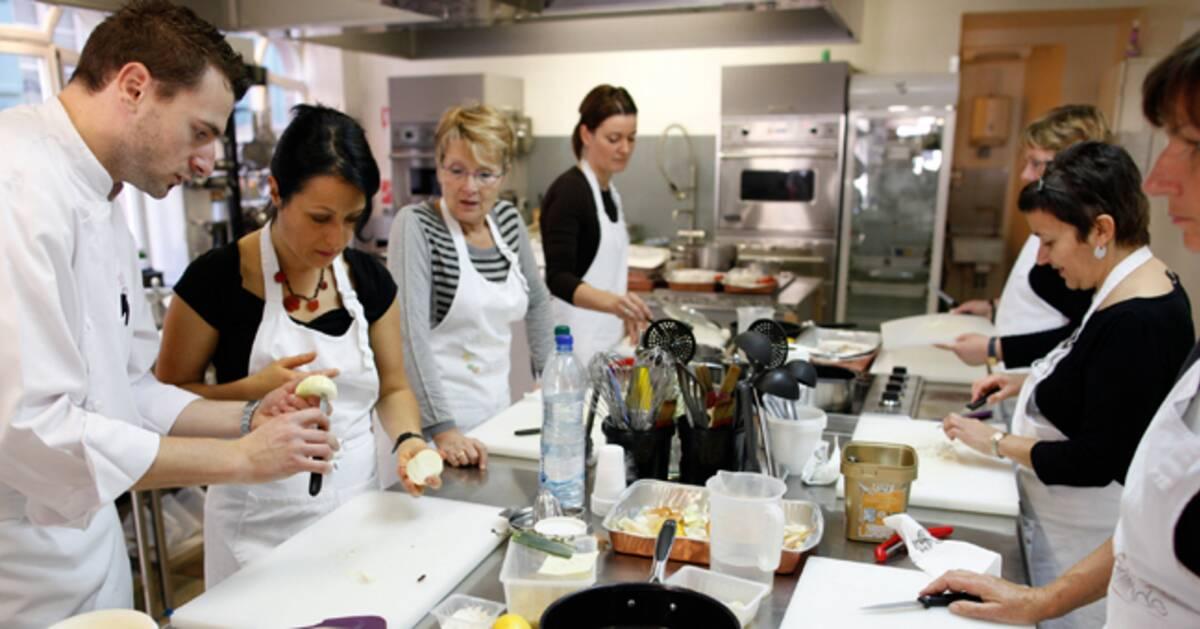 Les cours de cuisine m ritent ils leur succ s - Offrir un cours de cuisine avec cyril lignac ...