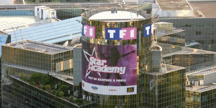TF1 grimpe sur l'annonce de résultats un peu moins dégradés au deuxième trimestre