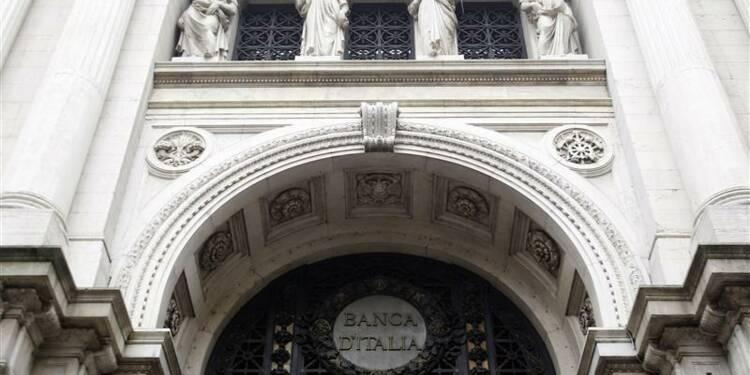La Banque d'Italie de plus en plus pessimiste