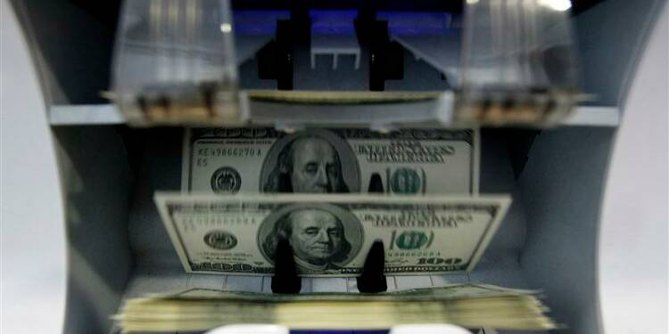 Plus faible déficit courant aux Etats-Unis en près de deux ans