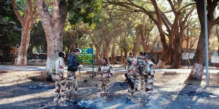 La France en pointe au Mali jusqu'à l'intervention de la Misma