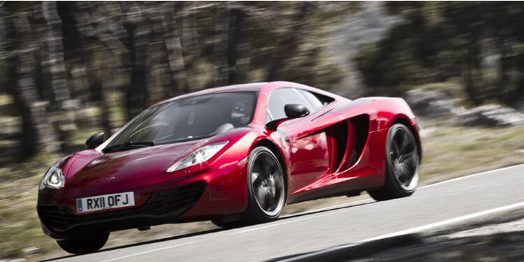 McLaren veut concurrencer les supercars de Ferrari