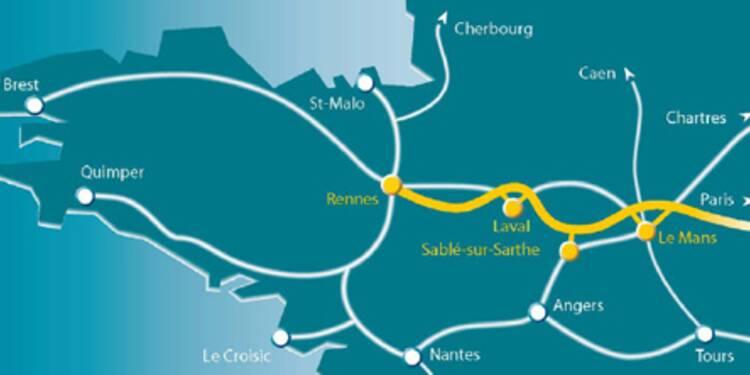 Eiffage décolle en Bourse après l'attribution du contrat de la ligne TGV Le Mans-Rennes