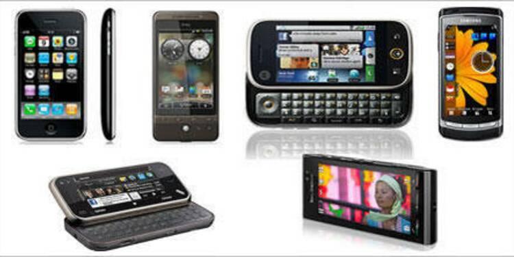 Le marché mondial du mobile est dopé par les smartphones
