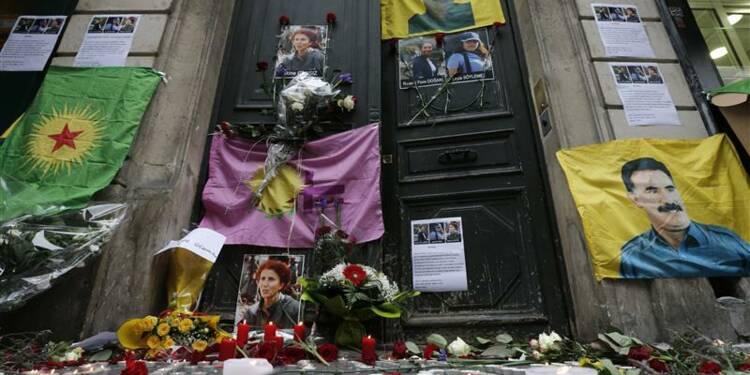 Deux gardes à vue dans le meurtre de militantes kurdes à Paris