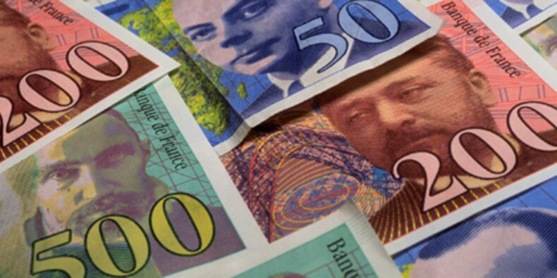 La mort du franc a rapporté plus de 500 millions d'euros à l'Etat