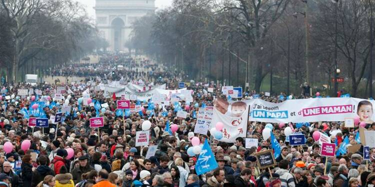 Les opposants au mariage gay misent sur la mobilisation de la rue